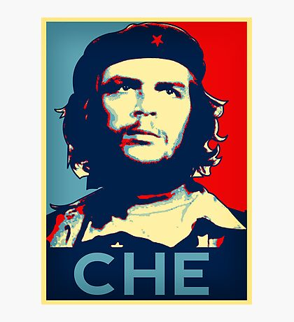 Che  hope poster 2 Photographic Print