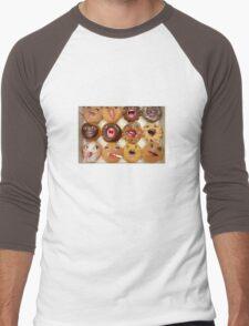 Freaking Donuts Men's Baseball ¾ T-Shirt