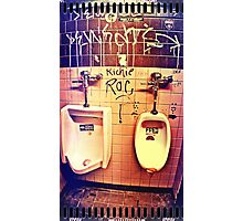 Restroom Funk Photographic Print