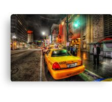 Hollywood Boulevard Canvas Print
