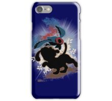 Super Smash Bros. Blue Duck Hunt Dog Silhouette iPhone Case/Skin