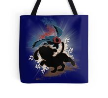 Super Smash Bros. Blue Duck Hunt Dog Silhouette Tote Bag