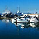 Hyde St Pier - Fisherman's Wharf - San Francisco by Yukondick