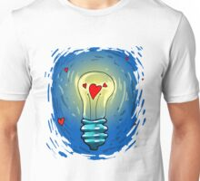 Lamp of love Unisex T-Shirt