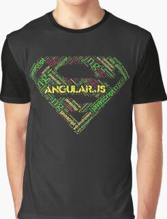 Angular.js Superman T-shirt & Hoodie Graphic T-Shirt