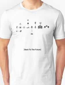 Back To The Future Pictogram Story  Unisex T-Shirt