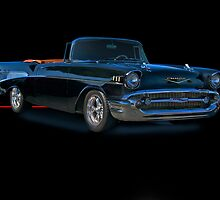 1957 Chevrolet Bel Air Convertible w/o ID by DaveKoontz