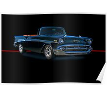 1957 Chevrolet Bel Air Convertible w/o ID Poster