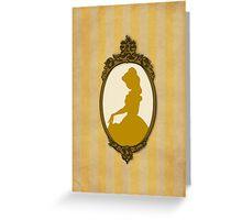 Vintage Belle Greeting Card