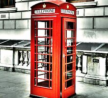 Vintage Phonebox by DavidWHughes