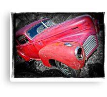 Old Junker HDR Canvas Print
