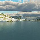 Isolated Lake by EthanMcFenton