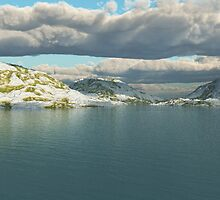 Isolated Lake by EthanMcFenton