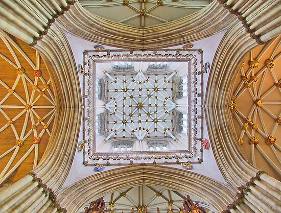 The Tower - York Minster - HDR by Colin J Williams Photography