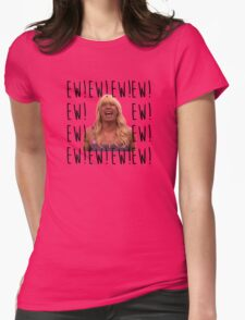 Sara Says Ew!  Womens Fitted T-Shirt