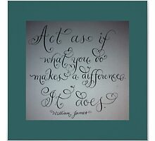 """It makes A Difference"" by Melissa Goza"
