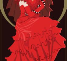 Lydia Nouveau - Beetlejuice Sticker