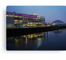 BBC, Glasgow Canvas Print