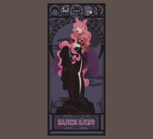 Black Lady Nouveau - Sailor Moon Kids Clothes