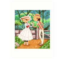 Jolly Holiday Art Print