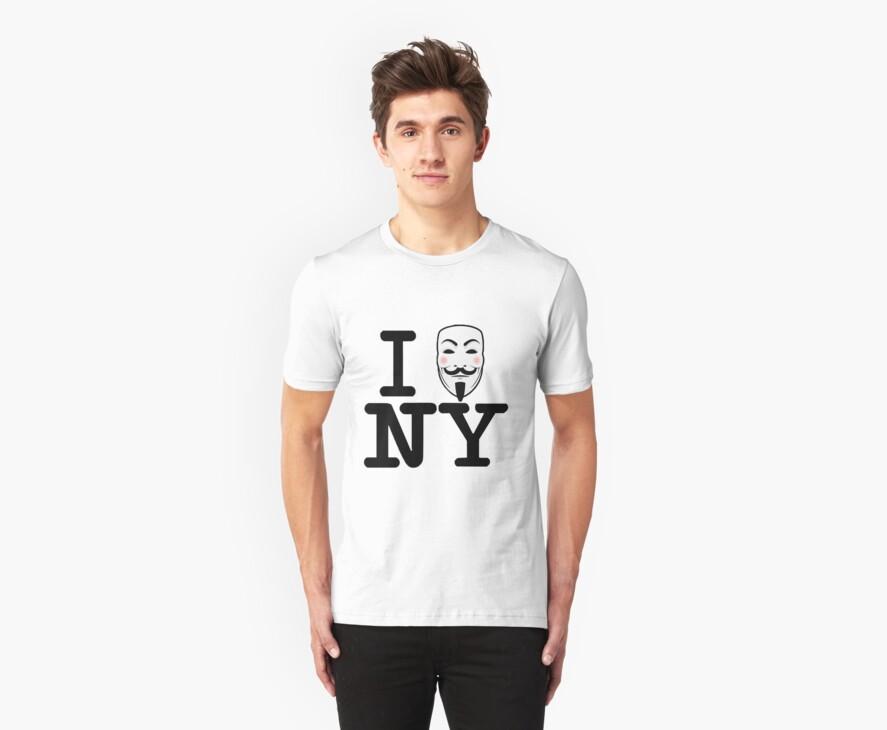 I OCCUPY NY by GraphicMonkey
