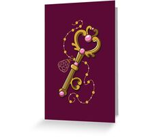 Chibiusa Time Key - Sailor Moon Greeting Card