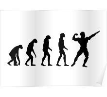 Evolved to Bodybuilding Poster