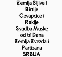 Serbia Unisex T-Shirt