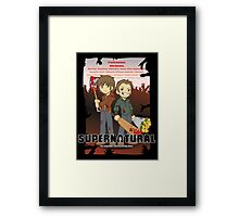 Supernatural - Goin to the Winchesters Framed Print