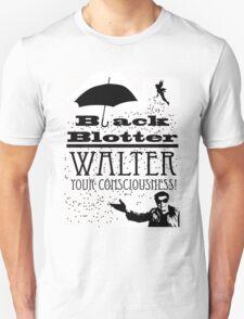 Black Blotter Unisex T-Shirt