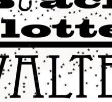 Black Blotter Sticker