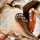 kookaburra two of tryptage by Glen Johnson