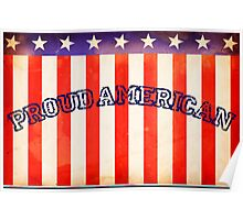Proud American Poster