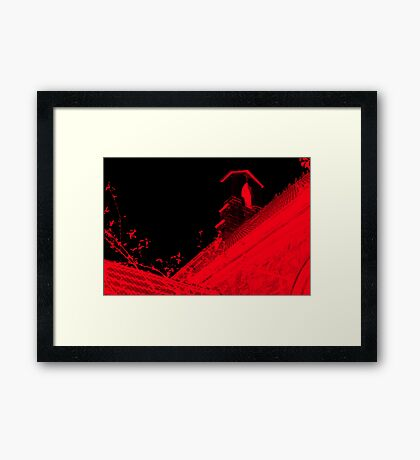 Church is †he New Red II Framed Print
