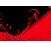 Church is †he New Red II Photographic Print