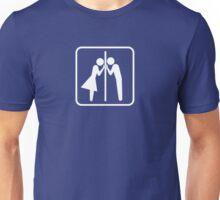 It's a lonely job. Unisex T-Shirt