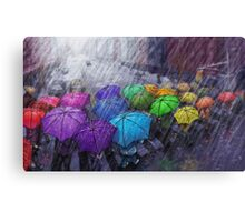 Urban Rainbow Canvas Print