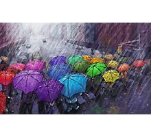 Urban Rainbow Photographic Print