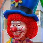 Carnival Clown by manateevoyager