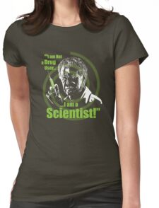 Walter Bishop - I am Not a Drug User...I am a Scientist! Womens Fitted T-Shirt