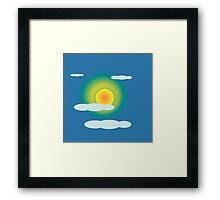 sun Framed Print