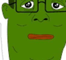 Hank Hill Pepe Sticker