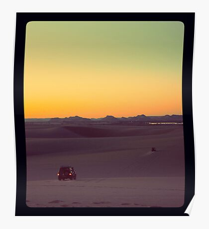 Sunset Safari Poster