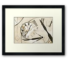 Essence is of the Time Framed Print