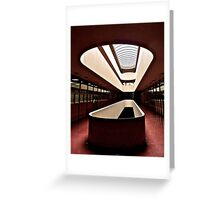 Marin County Civic Center, Frank Lloyd Wright, Architect Greeting Card