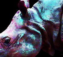 Rhino 1 - Buy Rhinoceros Art Prints by Sharon Cummings