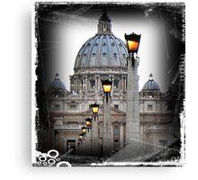 St. Peter's Basilica Vatican Rome Canvas Print