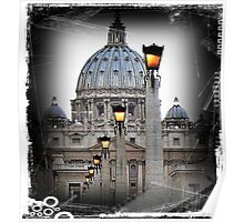 St. Peter's Basilica Vatican Rome Poster