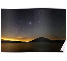 """Sky of Solitude"" ∞ Lake Somerset, QLD - Australia Poster"