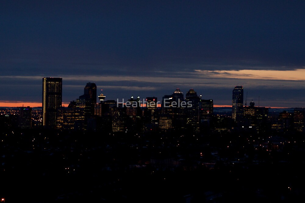 7am Calgary Morning by Heather Eeles
